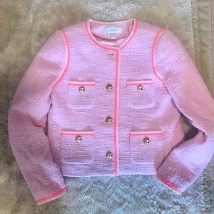 J Crew New Bouclet jacket